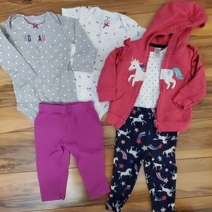 Carters layette sets